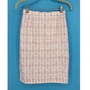 Escada by Margaretha Ley Pink Pencil Skirt